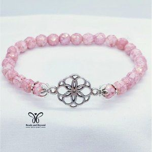 Pink Quartz Stretch Bracelet